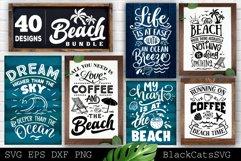 Beach Bundle SVG 40 designs Summer SVG bundle Product Image 6
