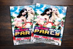 Summer Beach Party Flyer Product Image 2