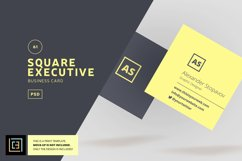 Square Executive Business Card - BC061 Product Image 1