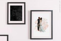 Golden, a romantic wedding script font Product Image 3