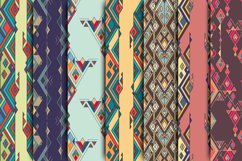 Ethnic tribal seamless pattern set Product Image 2