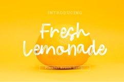 Fresh Lemonade Brush Playful Font Script Product Image 1
