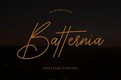 Batternia Handwritten Typeface Product Image 1