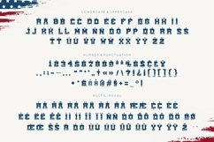 Ammrica - American Display Font Product Image 4