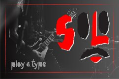 Red-and- Black OTF font Product Image 6