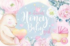 Watercolor set HONEY BABY GIRL Product Image 1