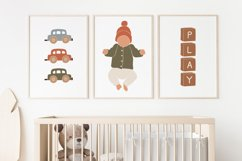 BOHO Kids Print, Nursery Wall Art, Play Print, Boho Toys Product Image 1