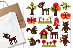 Alphabet animals, zoo, woodland - Graphics Bundle Product Image 2