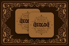 Salmon   Victorian Grunge Font Product Image 3