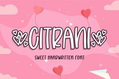 Citrani | sweet Handwritten Product Image 1