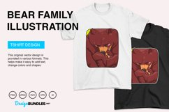 Bear Family Vector Illustration Product Image 4