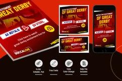 Sport Broadcast Social Media Pack Product Image 2