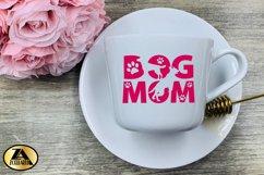 Dog Mom SVG Paw Prints SVG Dog Lover SVG Mothers Day SVG Product Image 6