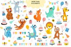 Cute Animals Birthday Greetings Product Image 4