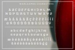 WarlGames Font Product Image 5