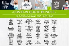 Covid-2019 SVG Bundle design set Product Image 1
