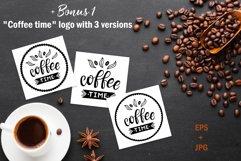 Coffee time Set. Coffee menu design Product Image 4