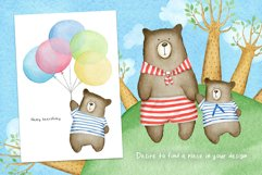 Animals. Cutest Watercolors Product Image 4