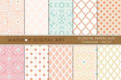 Digital Paper Pack - Arabesque Set 03 Product Image 1