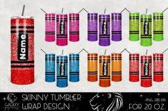 Huge Bundle 20 Oz. Skinny Tumbler Wrap Sublimation Design Product Image 4