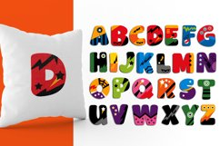 Alphabet Superhero Illustrations Product Image 2