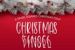 Christmas Tinsel - A Tinsel Inspired Christmas Font Product Image 1