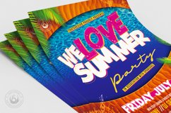 Beach Party Flyer Template V8 Product Image 5