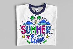 Summer illustration for t-shirt design Product Image 3
