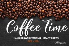 Coffee time Set. Coffee menu design Product Image 1