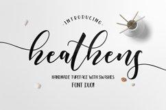 Heathens Script Product Image 1