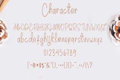 Chocolate Spaghetti   A Handwritten Font Product Image 2