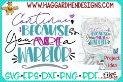 Continue Warrior SVG Product Image 1