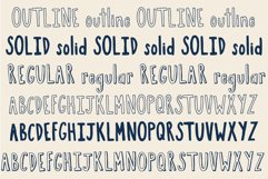 Boston Cream Serif and Sans Web Font Product Image 2