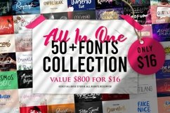 All In One | 50 Fonts Collection Product Image 1