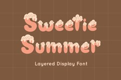 Sweetie Summer - Display Font Product Image 1