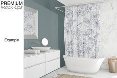 Shower Curtain Mockup Pack Product Image 2