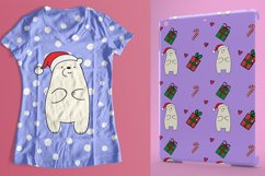 Christmas bears and patterns Product Image 6