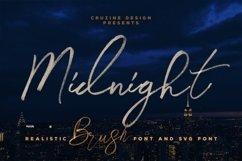 Midnight Brush & SVG Font Product Image 1