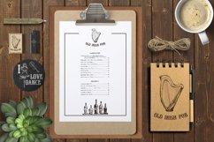 Irish Pub Ink Vintage PS Brushes Product Image 5
