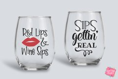 Wine Quotes Bundle SVG, EPS, DXF, PNG Product Image 4
