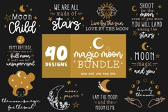 Moon Svg Bundle   Lunar Cycle Svg   Magic Svg Cut Files Product Image 2