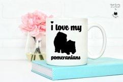 Pomeranian Spitz Dog Silhouette   Dog SVG Clipart Bundle Product Image 4