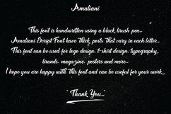 Amaliani Font Product Image 5