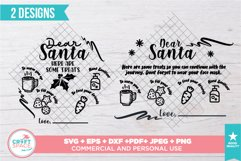 Santa Tray Christmas 2020 SVG, PNG, PDF and other Formats Product Image 3