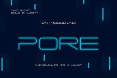 PORE Font Product Image 1