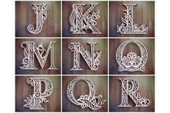 A-Z Layered Letters Bundle, Alphabet letters Bundle Product Image 6