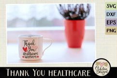 Thank You Healthcare Workers SVG - Healthcare Heroes Product Image 3