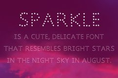 Sparkle font in ttf and otf Product Image 3