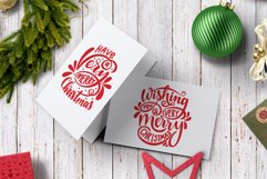 Christmas SVG. New Year SVG. Christmas lettering phrases. Product Image 2