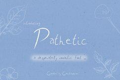 Pathetic - A nice romantic handwritten script font ! Product Image 1